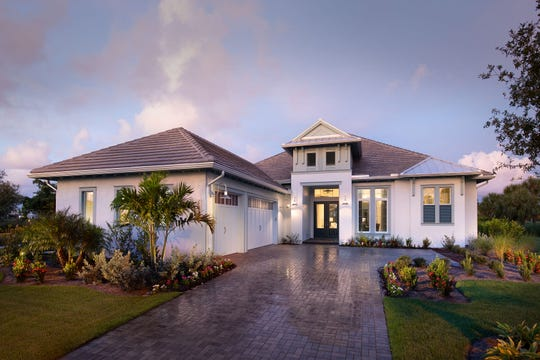 The Madison is one of Stock Development's custom estate homes offered in Fiddler's Creek.