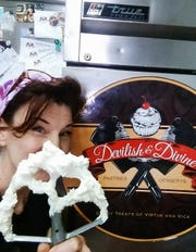 Paige DeFelice is the owner and executive pastry chef at Devilish & Divine.