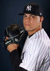 "Dellin Betances threw 20 pitches on Tuesday at Class AA Trenton, giving up one hit and one walk and had two strikeouts. Yankees manager Aaron Boone called ""another positive step forward.'' Betances will pitch again either Thursday or Friday for Trenton."