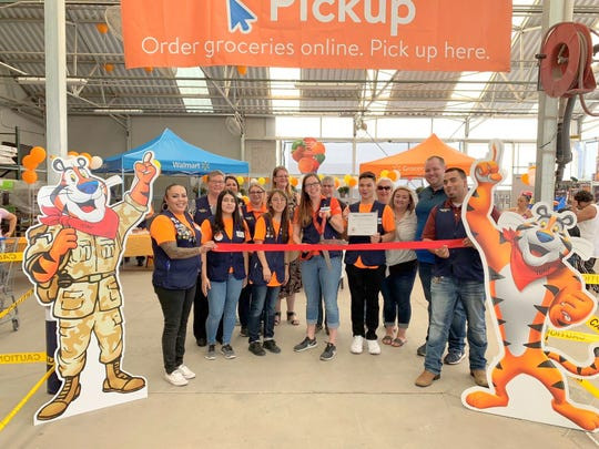 The Deming-Luna County Chamber of Commerce held a ribbon-cutting ceremony at the Deming Walmart Supercenter on Saturday, Sept. 7, 2019. Walmart is now offering a new Online Grocery Pickup Service that began on Sept. 10.You can create an order and reserve your pickup time by visiting https://grocery.walmart.com. Once the order is ready for pickup you will receive an email to check-in when you are headed to the store. The dedicated pickup parking location is on the east side of the store. The service is available from 7 a.m. to 8 p.m., seven days a week.You can reach the Online Grocery Pickup by calling 575-202-6229 for any questions or assistance you may need. The store is located at 1021 E. Pine St.