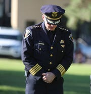 Las Cruces Police Chief Patrick Gallagher was on duty in Brooklyn, New York during the Sept. 11, 2001 terrorist attacks. Gallagher said he has lost several friends due to illnesses they sustained from that day, Wednesday Sept. 11, 2019.