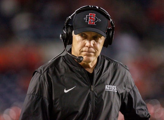 San Diego State head coach Rocky Long is 9-3 all time against New Mexico State at stops at New Mexico and SDSU.