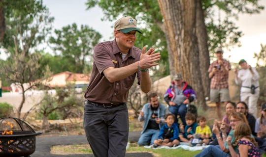 Andy Bleckinger, the assistant district manager for the San Juan Soil & Water Conservation District, will lead a Community Campfire event this weekend at Aztec Ruins National Monument.