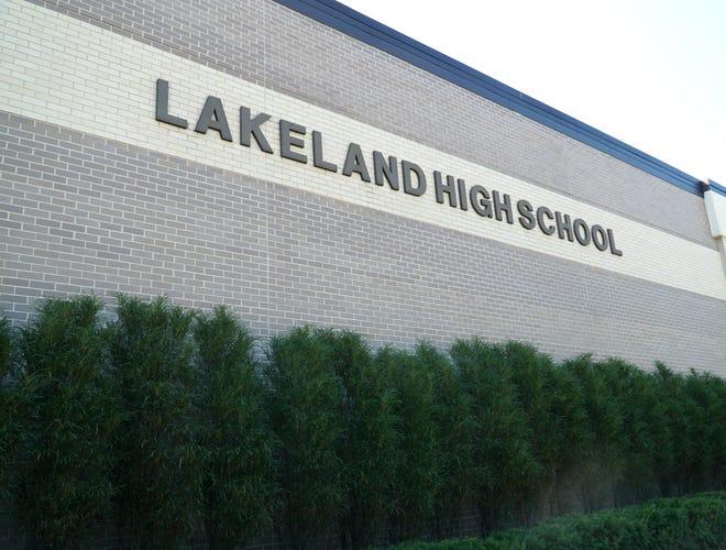 Lakeland High School on  Bogie Lake Road in White Lake Township.