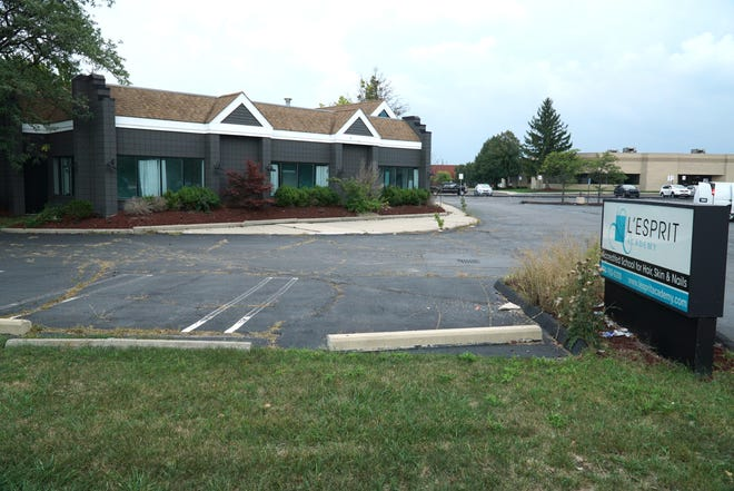 The former L'Esprit Academy property on Schoolcraft in Livonia. The property is to be razed and replaced with a hotel.