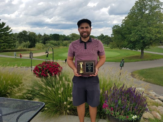 Greg VanGorp won the men's O&E golf tournament in a one-hole playoff.