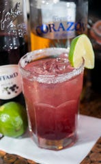 South Market's Blackberry Margarita is the signature cocktail of the 232 E. Main St. restaurant.