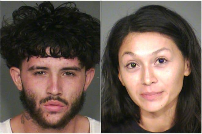 Gary Lynn, 29, and Adriana Gamboa, 26.