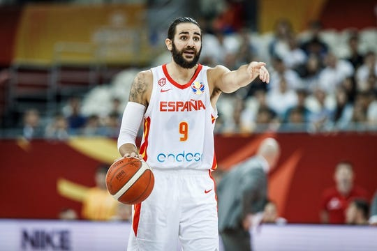 Ricky Rubio has been a major force for Spain reaching the World Cup semifinals.