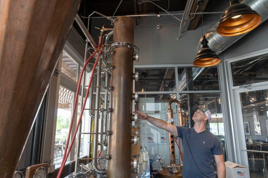 Weston Holm owner of Blue Clover Distillery, a bar and distillery and bar in Old Town, and is a third-generation farmer who's transforming his family's legacy by farming handmade liquor to the table. In addition to farming, Weston worked on an oil rig and found parallels between the oil distilling process and alcohol distilling.