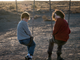 """Oakes Fegley as Young Theo and Finn Wolfhard as Young Boris in """"The Goldfinch."""""""