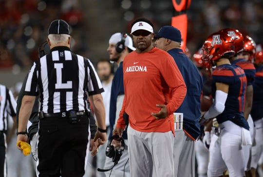 Kevin Sumlin seeks growth from Arizona Wildcats after painful second half against NAU