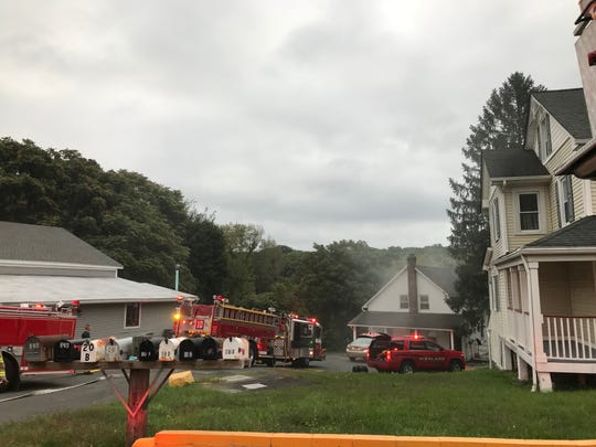 Highland Fire Department responded to a structure fire on South Roberts Road on Wednesday, Sept. 11, 2019.