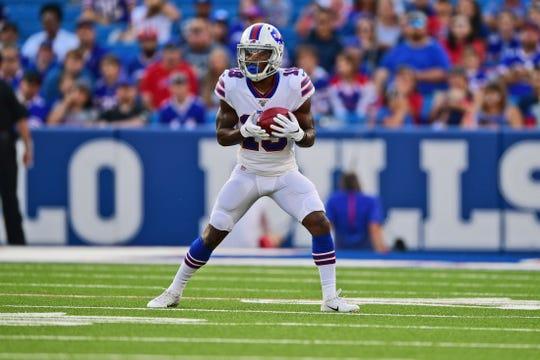 Isaiah McKenzie didn't have much to do last week as the Bills' kickoff returner.