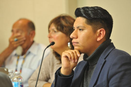 Salinas Union High School District Trustee Anthony Rocha. Sept. 10, 2019.