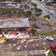 Aerial photos, videos show the destruction left by Sioux Falls tornado
