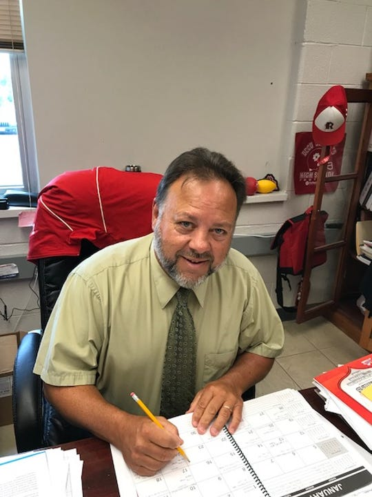 Tim Morris is the new athletic director at Riverheads High School.