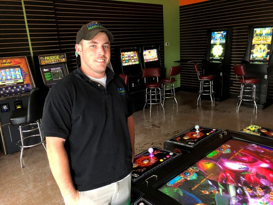 The new Bank Arcade and Skill Games in Waynesboro located at 2101 W. Main St. The spot includes vintage arcade games and multiple skill games for those ages 18 and up.
