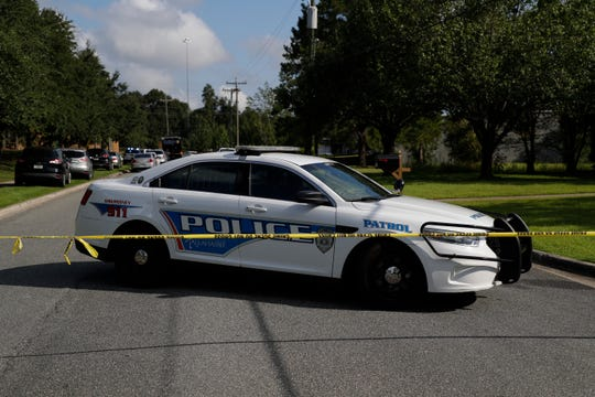 The Tallahassee Police Department responded to a call about multiple stabbings at Dyke Industries on Maryland Circle Wednesday, Sept. 11, 2019.