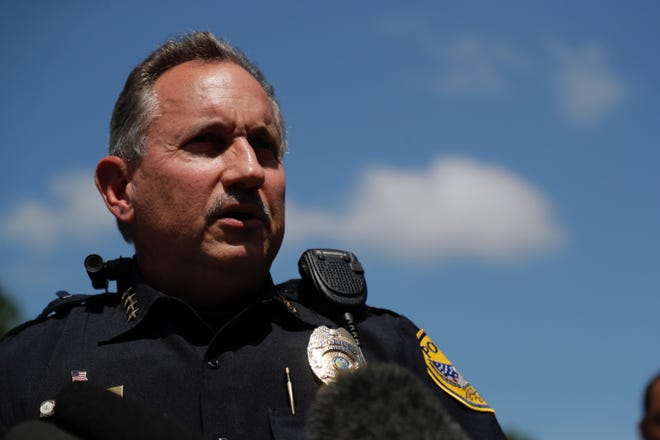TPD Interim Police Chief Steve Outlaw gives an update on the stabbings at Dyke Industries.