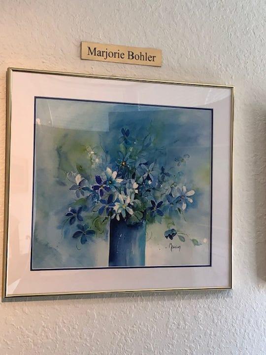 Watercolor by Marjorie Bohler