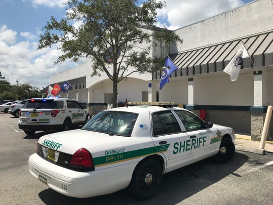 Indian River County Sheriff's Office responded to call of a robbery at Vero Beach Hardware off Oslo Road on Wednesday, Sept. 11, 2019.