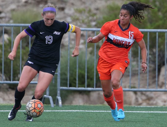 Senior midfielder Danielle Carreon leads UTEP in goals and points this season