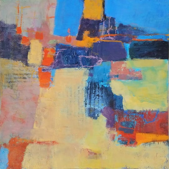 """Provence Tales"" by Dahlia Riley will be part of the exhibit ""Abstractions""  at the Buenaventura Gallery in Ventura."