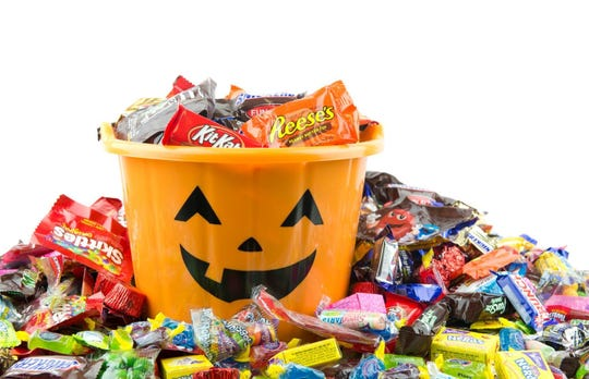Trick-or-treat times are being announced.