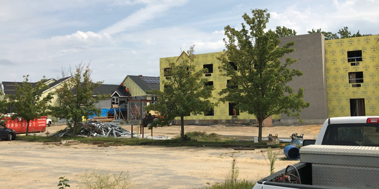 Village Drive Healthcare LLC is about six weeks away from completing a 154-bed, $21 million assisted living facility on Village Drive in Millville.
