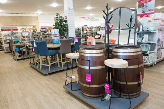A look inside the latest HomeGoods location in Scarsdale.