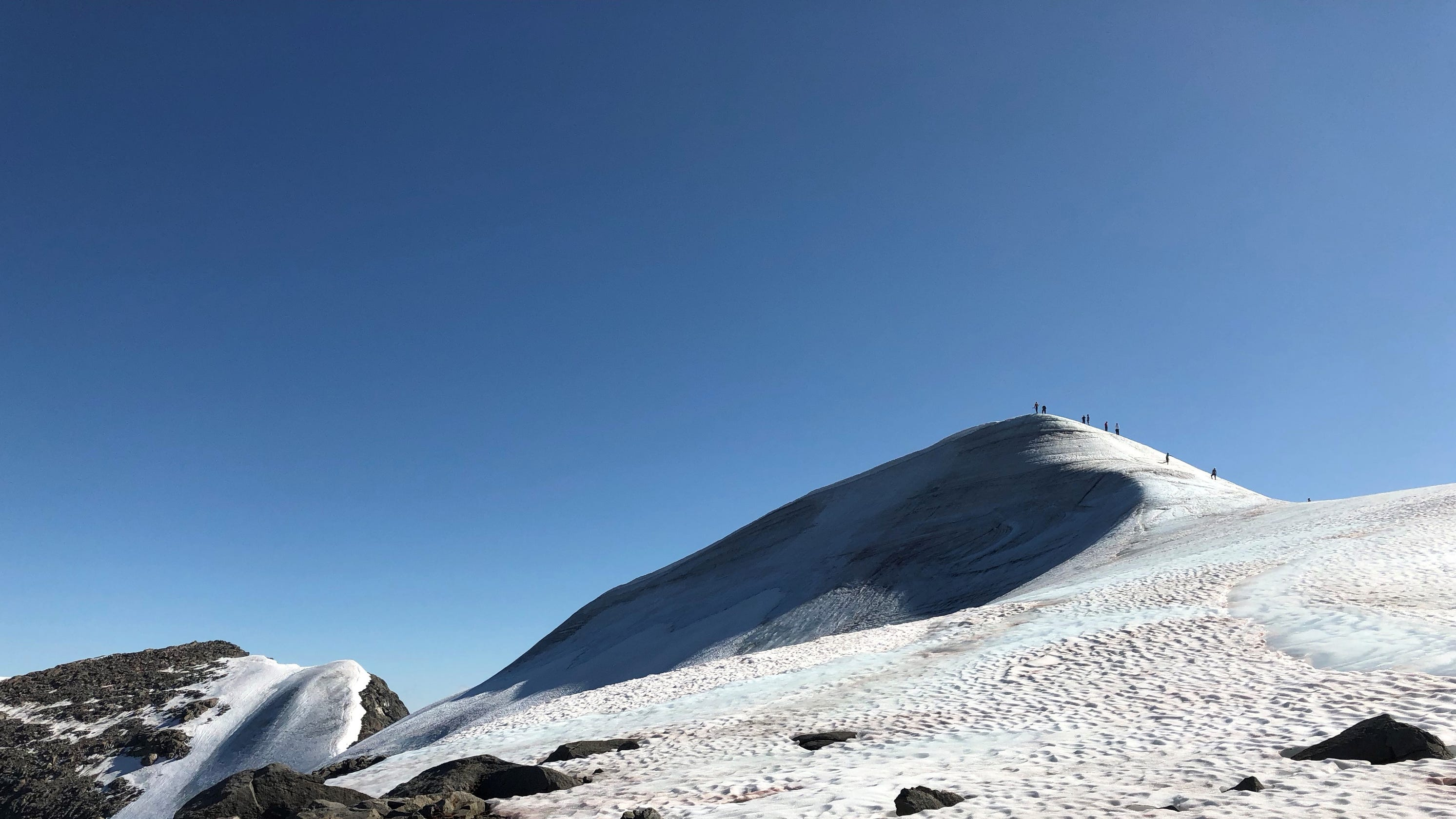 Sweden's highest peak shrinks, loses tallest status, thanks to a warmer climate - USA TODAY