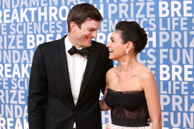 Ashton Kutcher broke his toe and Mila Kunis thought it was sexy that he put it back together himself.