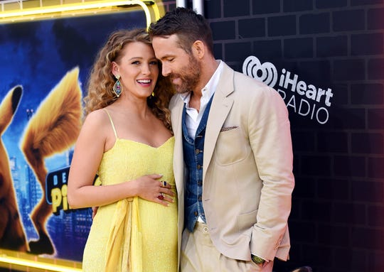 """""""The Rhythm Section"""" star Blake Lively is expecting her third child with Ryan Reynolds."""