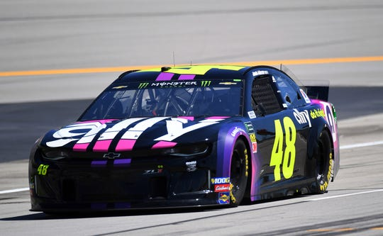 Jimmie Johnson missed the playoffs this season for the first in his Cup Series career.