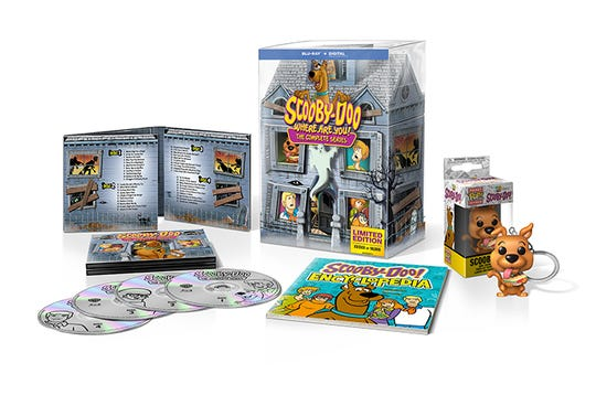 """A new """"Scooby-Doo: Where Are You!"""" DVD/Blu-ray box set of the complete, 41-episode series was released earlier this month."""