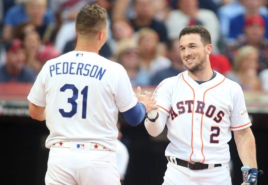 Joc Pederson and Alex Bregman are two of the brightest stars to come through the Dodgers and Astros' organizations in the past five years.
