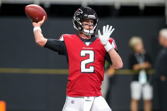 The Falcons' Matt Ryan was one of 13 quarterbacks to pass for over 300 yards in Week 1.