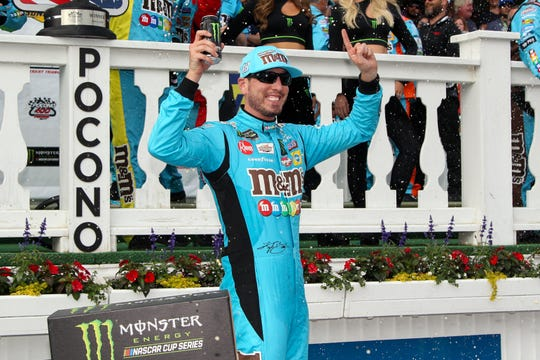 Kyle Busch's most recent Cup win came June 2 at Pocono Raceway. He has four victories in 2019 entering the playoffs.