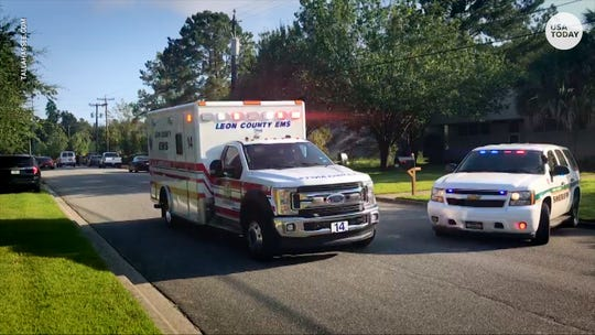 An unidentified person went on a rampage Wednesday morning in Tallahassee, Florida, stabbing a number of people in some cases multiple times.