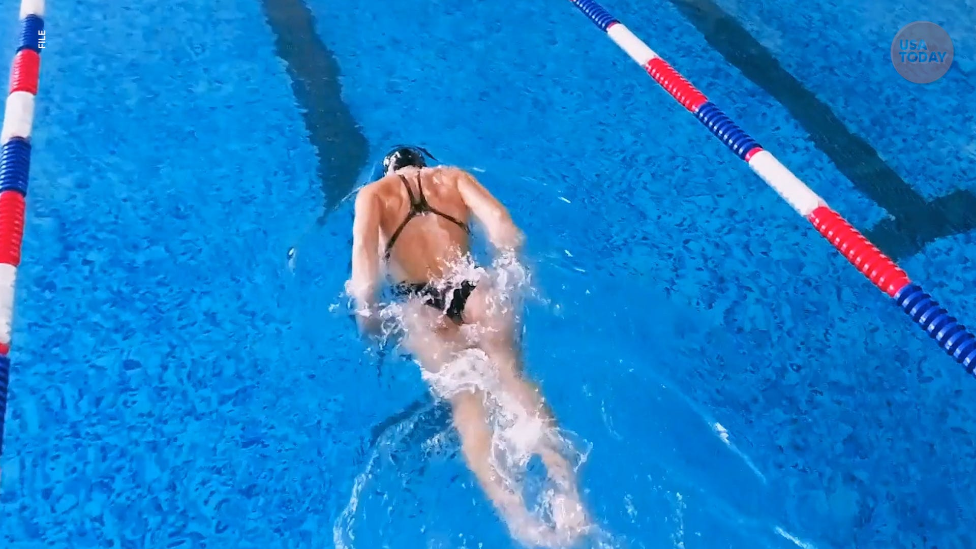Teen swimmer disqualified after referee claims swimsuit exposes too much