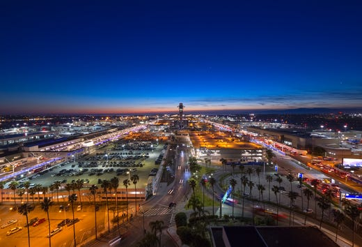LAX: No Uber, Lyft Curbside Pickup Starting In October