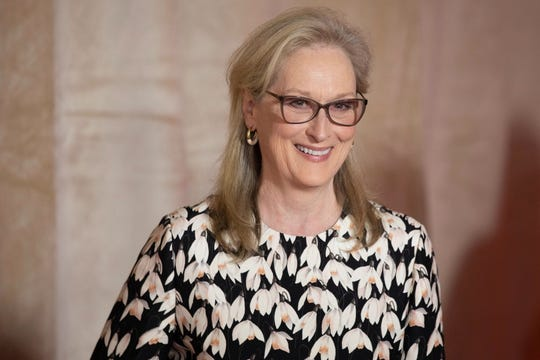 Meryl Streep was honored at Toronto International Film Festival's first Tribute Gala on Monday.