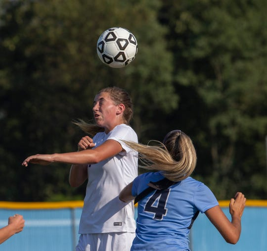 Freehold Township girls soccer vs Rumson-