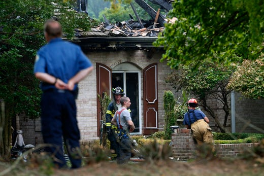 Ocean Twp. woman missing after fire; man she lived with found with her car, shotguns