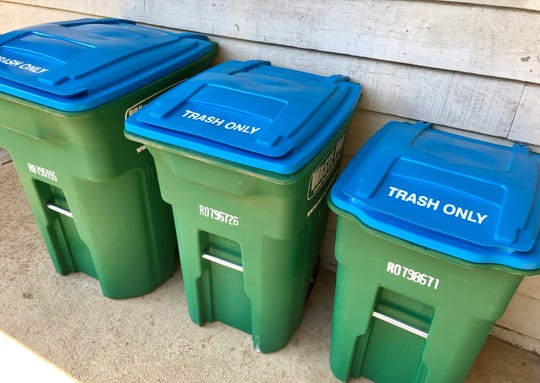 Waste Pro customers in unincorporated areas of Buncombe County will be issued new rolling bins in 2020. They have until Oct. 1 to choose the size they want.