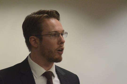 Assistant Prosecutor Chris Baldwin argued that John Loepke should remain in prison without the possibility of parole.