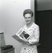Marjory Hinman, who created the first history research center and wrote 11 books about the community.
