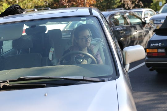 Mackenzie Pagaduan starts her commute back to Tacoma after finishing her work in Kingston on Tuesday. Pagaduan, 26, has struggled to find an affordable place to live in Kitsap County despite a months-long search.