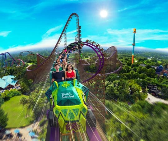 The 'Iron Gwazi' will be North America's tallest and fastest roller coaster, coming to Busch Gardens in Tampa in 2020.